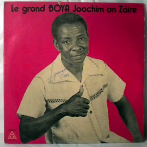 BOYA JOACHIM - Au Zaire - LP