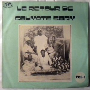 KOUYATE SORY ET SON ENSEMBLE - Le retour de Kouyate Sory - LP