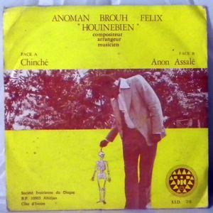 ANOMAN BROUH FELIX - Chinche / Anon assale - 7inch (SP)