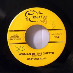 HORTENSE ELLIS - Woman of the ghetto - 7inch (SP)