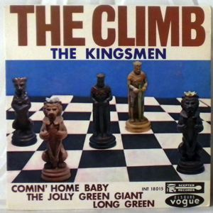 THE KINGSMEN - The climb EP - 7inch (SP)