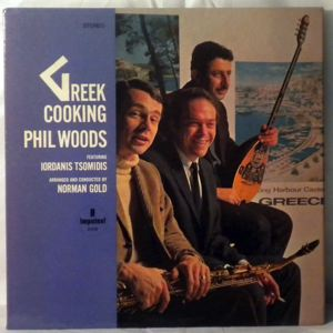 PHIL WOODS - Greek Cooking - LP