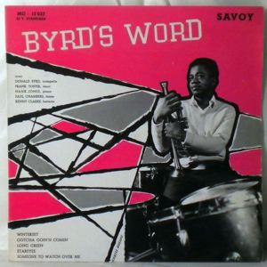 DONALD BYRD QUINTET - Byrd's Word - LP