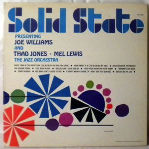JOE WILLIAMS - Presenting Joe Williams & Thad Jones Mel Lewis The Jazz Orchestra - LP