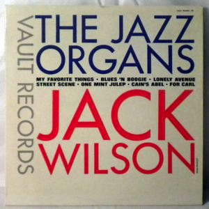 JACK WILSON - The Jazz Organs - LP