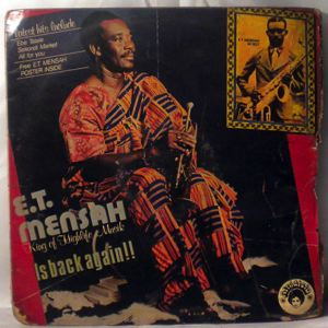 E.T. MENSAH - Is back again! - LP