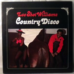 LEE SHOT WILLIAMS - Country Disco - 33T