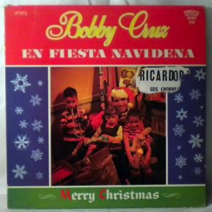 BOBBY CRUZ - En Fiesta Navidena - LP