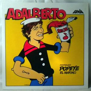 ADALBERTO SANTIAGO - Adalberto Featuring Popeye El Marino - LP