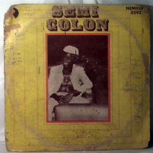 SEMI COLON - Same - LP