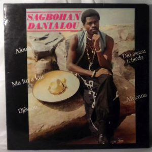 SAGBOHAN DANIELOU - Same - LP