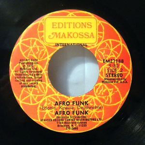 AFRO FUNK - Afro Funk / Try and try - 7inch (SP)