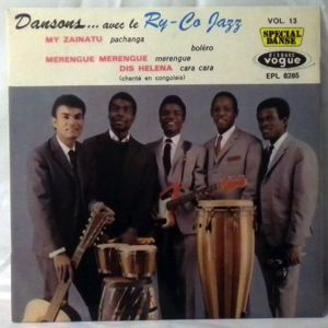 RY-CO JAZZ - Dansons Vol. 13 - 7inch (SP)