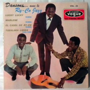 RY-CO JAZZ - Dansons Vol. 23 - 7inch (SP)
