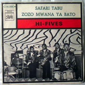 HI-FIVES - Safari tabu / Zozo mwana ya bato - 7inch (SP)