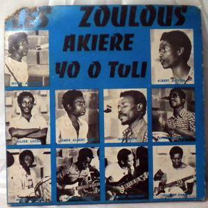LES ZOULOUS - Akiere / Yo o toli - 7inch (SP)