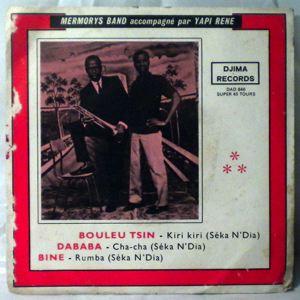 MERMORYS BAND - Bouleu tsin EP - 7inch (SP)