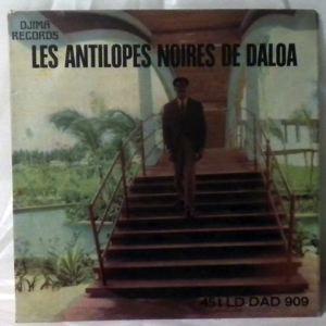 LES ANTILOPES NOIRES DE DALOA - Kamani EP - 7inch (SP)