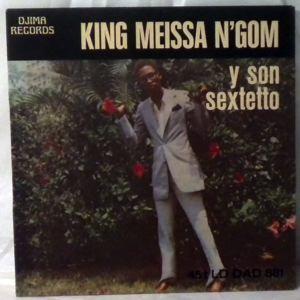 KING MEISSA N'GOM - Fatema / Guantanamera - 7inch (SP)