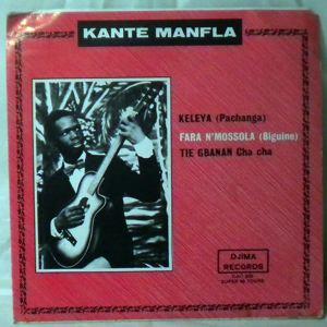 KANTE MANFLA - Keleya EP - 7inch (SP)