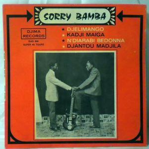 SORRY BAMBA - Djelimango EP - 7inch (SP)