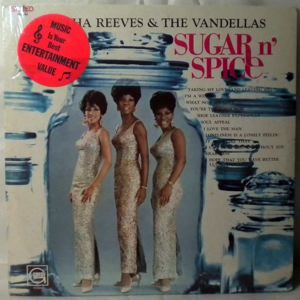 MARTHA REEVES & THE VANDELLAS - Sugar n spice - 33T
