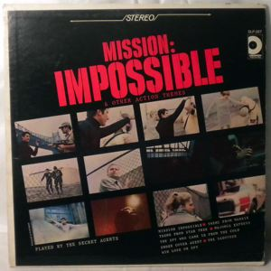 THE SECRET AGENTS - Mission Impossible & Other Action Themes - LP