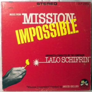 LALO SCHIFRIN - Mission Impossible - LP
