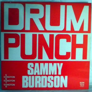 SAMMY BURDSON - Drum punch - 33T