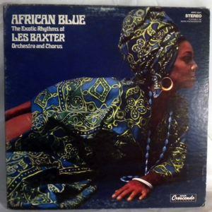 LES BAXTER - African blue - LP