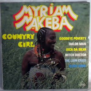 MYRIAM MAKEBA - Country girl - 33T