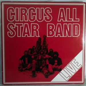 CIRCUS ALL STAR BAND - Live - 33T
