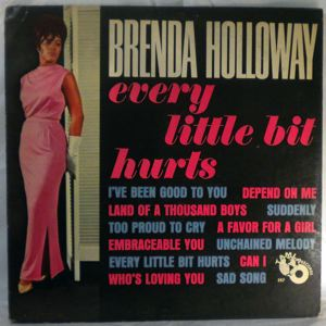 BRENDA HOLLOWAY - Every little bit hurts - LP