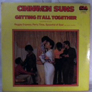 CINNAMON SUNS - Getting it all together - LP
