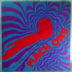 THE U.S. AIR FORCE BAND ROCK GROUP - Mach one - LP