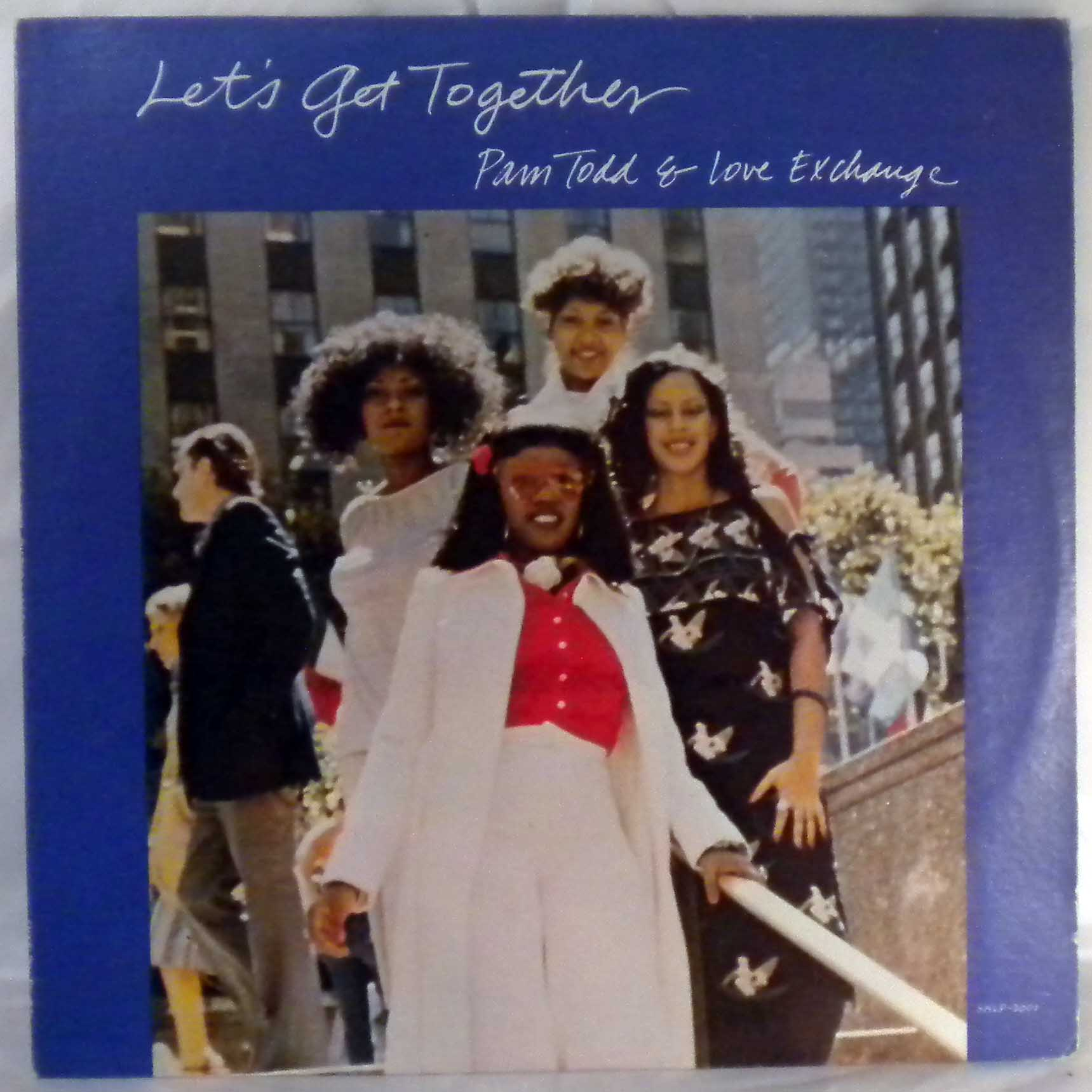 PAM TODD AND LOVE EXCHANGE - Let's get together - LP