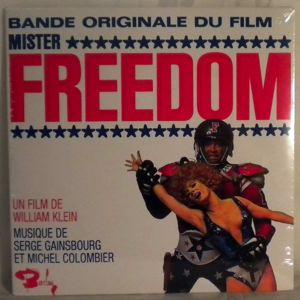 SERGE GAINSBOURG - Mister Freedom - 45T (SP 2 titres)