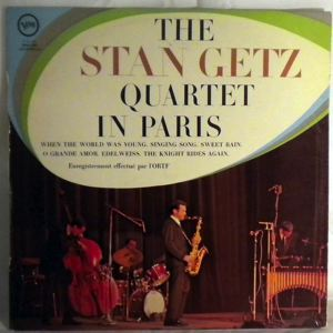 THE STAN GETZ QUARTET - In Paris - LP