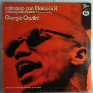 GIOGIO GASLINI - Colloquio Con Malcolm X - LP