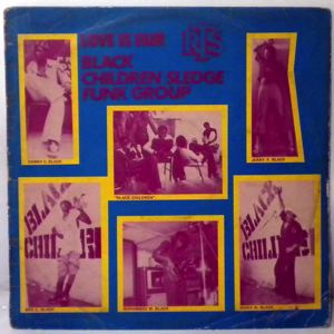 BLACK CHILDREN SLEDGE FUNK GROUP - Love is fair - 33T