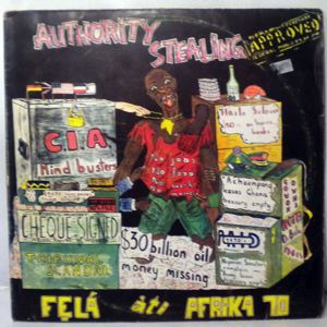 FELA KUTI - Authority stealing - LP