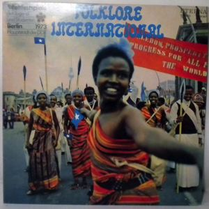 VARIOUS - Folklore international - LP