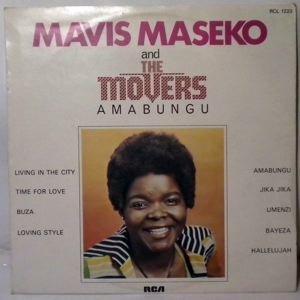 MAVIS MASEKO  & THE MOVERS - Amabungu - LP
