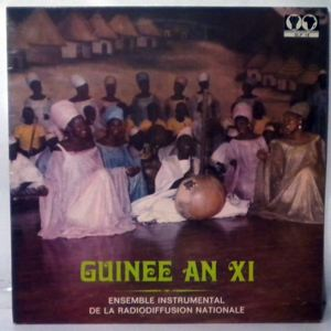 ENSEMBLE INSTRUMENTAL DE LA RADIODIFFUSION NATIONA - Guinee An XI - LP