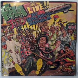 FELA KUTI - JJD Johnny Just Drop - LP