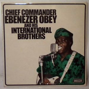 CHIEF COMMANDER OBEY & HIS INTERNATIONAL BROTHERS - Same - LP