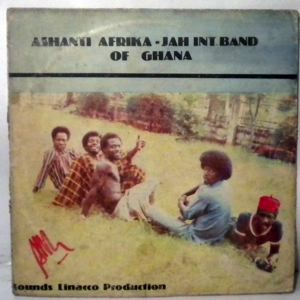 ASHANTI AFRIKA JAH BAND OF GHANA - Same - LP