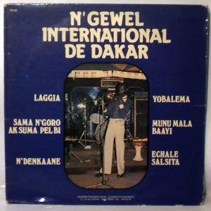 N'GEWEL INTERNATIONAL DE DAKAR - Laagya - LP