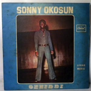 SONNY OKOSUN - Living Music - LP