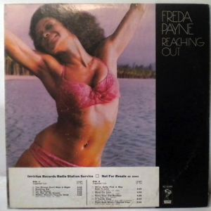FREDA PAYNE - Reaching out - 33T